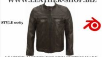 Leather jackets for men custom made video