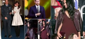 Meghan Markle Lady in leather with Prince Harry at Invictus Games