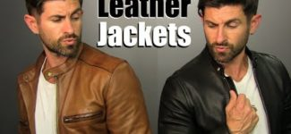 Leather Jackets and 4 BADASS Ways To Wear Them!
