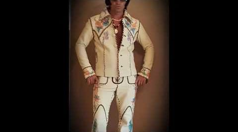 Elvis Presley Emperor Leather Suit