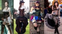Cool Steampunk Outfits & Dresses for Girls & Women