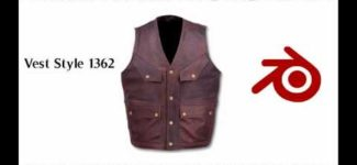 Leather Vests for Men Custom Made video