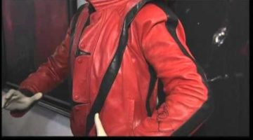 Michael Jackson's Thriller leather jacket Sold – Video