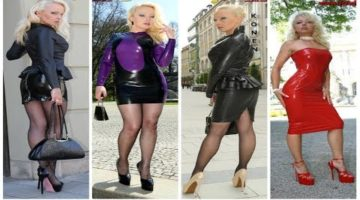 Leather Summer Outfits /  Leather Girls 2018 video